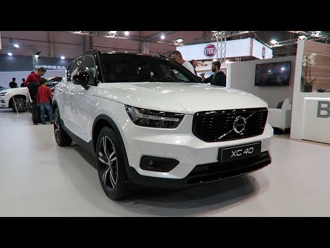 Volvo XC40 SUV spied: first peek at new crossover's