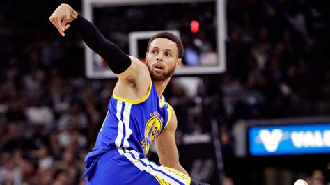 NBA -- Golden State Warriors Steph Curry's sagging MVP