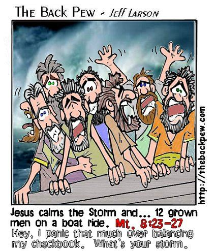 Jesus Calms the Storm and