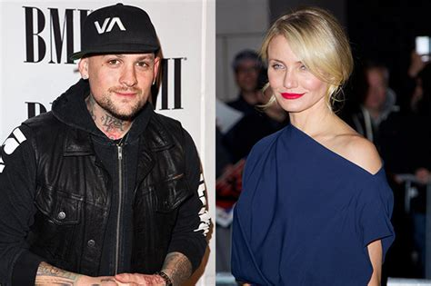 Cameron Diaz spotted holding hands with Benji Madden on