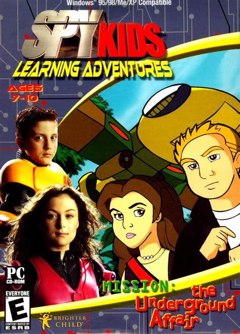 Spy Kids Learning Adventures: Mission: The Underground