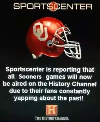"""""""OU SUCKS"""" memes to get you ready for Saturday!"""