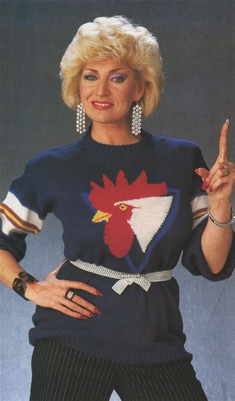 A Brilliant Study In 1980s Jumpers and Knitting - Flashbak