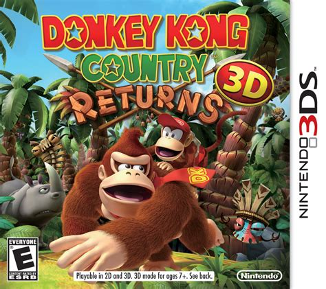 Donkey Kong Country Returns 3D - Super Mario Wiki, the