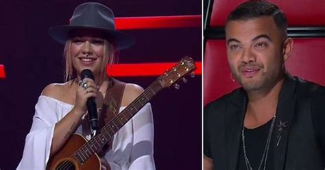 Guy Sebastian awkwardly snubs a Voice contestant he knew
