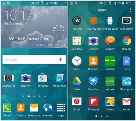 Samsung Galaxy S5 Plus Official Android 5