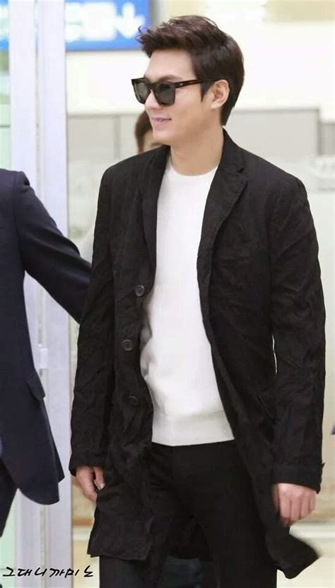 Lee Min Ho - My Everything: Lee Min Ho @ Gimpo Airport