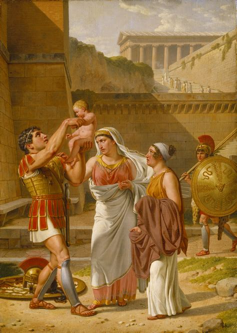 Hector's farewell to Andromache B213 - Thorvaldsensmuseum