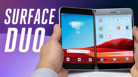 Surface Duo: Android foldable phone from Microsoft!